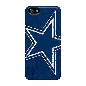Shockproof Hard Phone Cover For Iphone 5/5s (MLG5777kRDj) Custom HD Dallas Cowboys Series