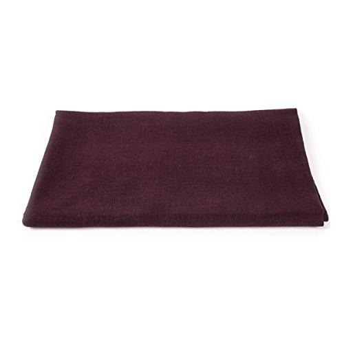 LinenMe Linen Lara Bath Towels (Set of 4), 39 x 55, Aubergine by LinenMe (Image #5)