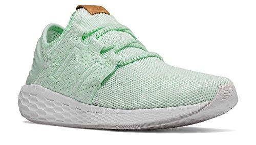 New Balance Fresh Foam Cruz v2 Knit Shoe - Women's Running Seafoam/White Munsell]()