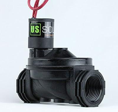 """1"""" Female NPT 2 Position 2 Way Irrigation/Sprinkler Solenoid Valve AC 24V from U.S. Solid"""