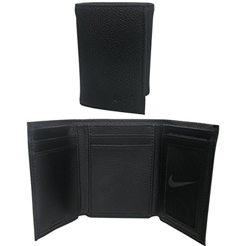 Nike+Golf+Men%27s+Genuine+Leather+Pebble+Trifold+Wallet