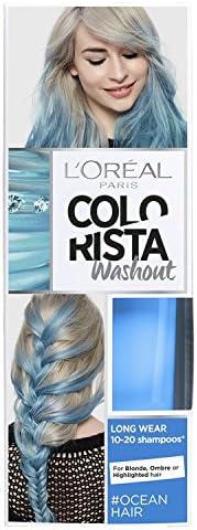 LOreal Paris Colorista Washout Ocean Blue Neon Tinte Semipermanente para el cabello 80ml