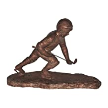 Large Size Hockey Shooter (Solid)bronze Statue Sculpture