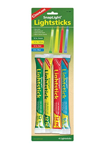 Coghlans 9845 Multi Colored Lightsticks 4 Pack product image