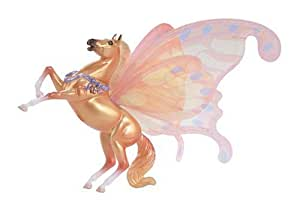 Breyer Horse Sun loving Fiery Orange Sirocco part of the Wind Dancers Winged Horses Collection
