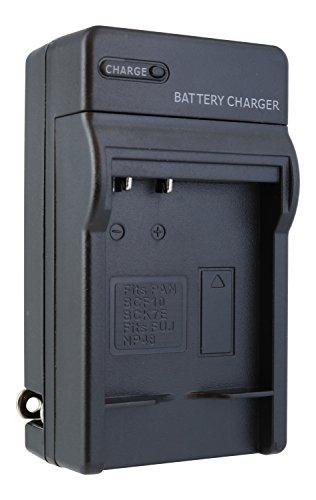 F3 Compact (Panasonic Lumix DMC-F3, DMC-FH20, DMC-FP8, DMC-FS15, DMC-TS1, DMC-TS20 Compact Battery Charger by TechFuel charges Panasonic DMW-BCF10, DMW-BCF10E, DMW-BCF10PP batteries)