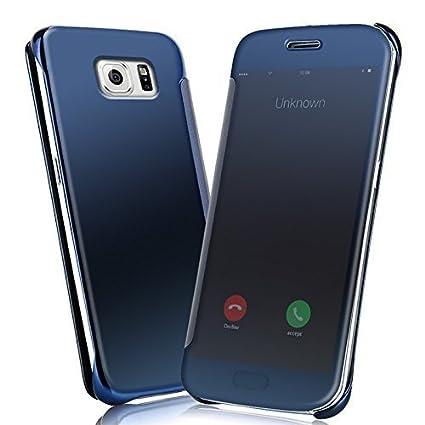 samsung galaxy s7 flip case blue