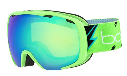 bollé Royal Snow Goggles Matte Green Flash Unisex-Baby Small