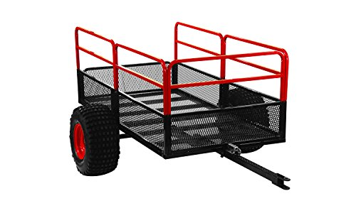 (Yutrax Trail Warrior X2 Heavy Duty UTV/ATV Trailer – for Off-Road Use - 1,250 lb. Capacity)