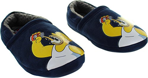 The Simpsons Men's Hardy Textile Novelty Slippers Y9KOTg3pyq