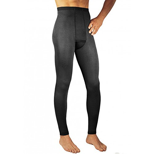 Solidea Men's Plus-Advanced Micro Massage Compression Legging (black-lg) by Solidea
