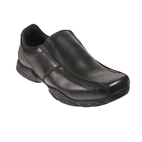 Toughees Shoes Hoddle Slip On, Mocassins Homme, Noir (Noir), 41.5 EU