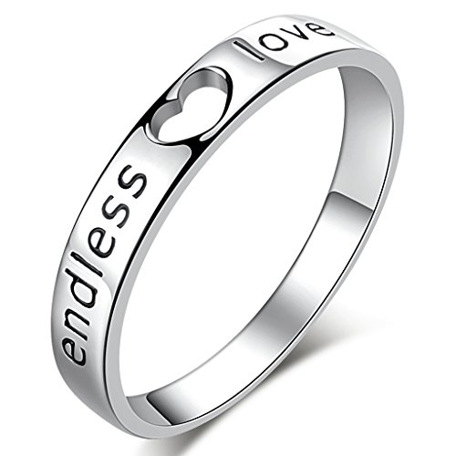 Endless Sterling Silver Zirconia Couples