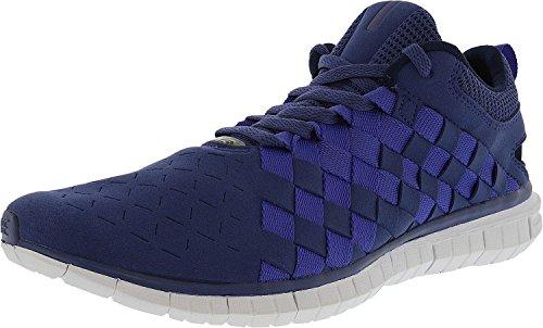 Nike Free Og 14 Woven Mens Nero / Nero / Grigio Freddo / Bianco 725070-001 Blu Legend / Persiano Viola-mezzanotte Blu Scuro