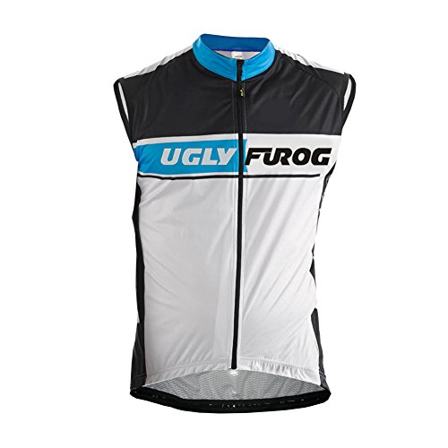 Uglyfrog 2017 Newest Mens Cycling Vest Sleeveless Bike Clothes Sports Wear Outdoor Winter with Fleece Bicycle Polyester Top - Georgetown Jersey Cycling