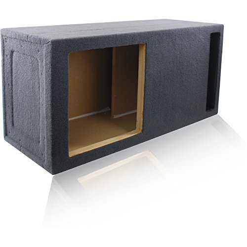 3.0 Cu. Ft. Ported/Vented MDF Sub Woofer Enclosure for Single Kicker L715 L7, L7S15 Solo-Baric L7S, L7R15 L7R 15