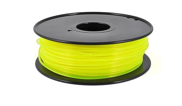 Pla Amarillo Fluorescente 3 mm – 1 kg – Pla Amarillo Fluorescente ...