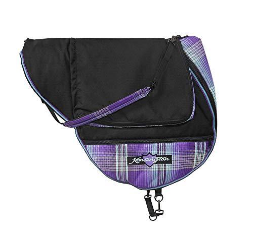 Kensington English Saddle Carry Bag Lavender Mint ()