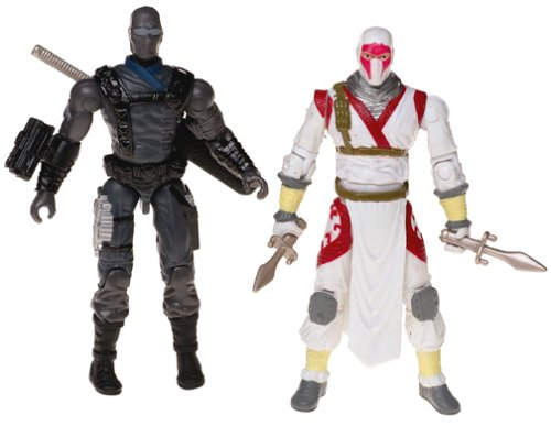 GI Joe 3.75 Snake Eyes vs Storm Shadow Valor vs Venom 2-Pack ()