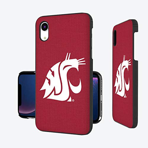 - Keyscaper KSLMXR-0WST-SOLID1 Washington State Cougars iPhone XR Slim Case with WSU Solid Design