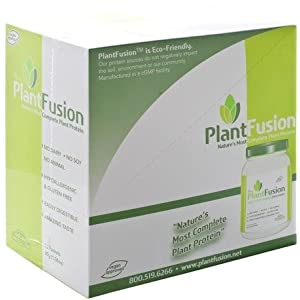 Complete Plant Protein Natural (unflavored) Box PlantFusion 12 ct Packet