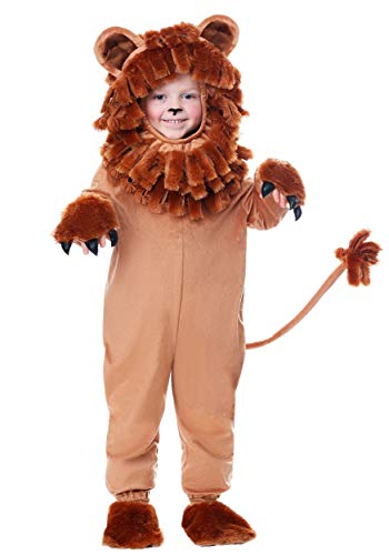 Lion Costume Toddler Lovable Lion Costume for Toddlers 2T Brown ()