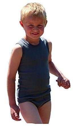 Engel Natur Sportslip für Jungen | Jungen-Unterhose 100% Bio-Baumwolle mit Nadelzug 874760