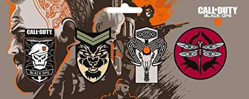 Call of Duty Official Black Ops 4 Pin Badge Set