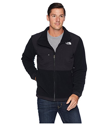Mens North Face Denali Jacket - The North Face Denali 2 Jacket - Men's Recycled TNF Black Large