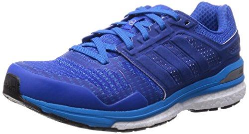 Homme adidas Bleu Sequence Solar Boost de Bleu Chaussures Bleu