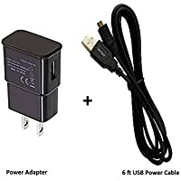 firePower USB Power Adapter + 6-Ft USB Cable for Fire TV Stick