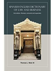 Spanish-English Dictionary of Law and Business, 2nd edition