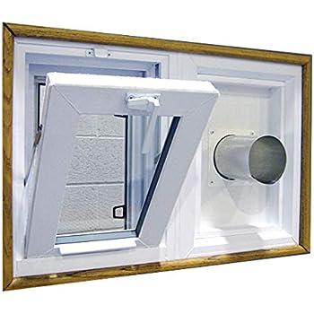 Amazon Com Dryer Vent And Hopper Window Combination 32 Quot W