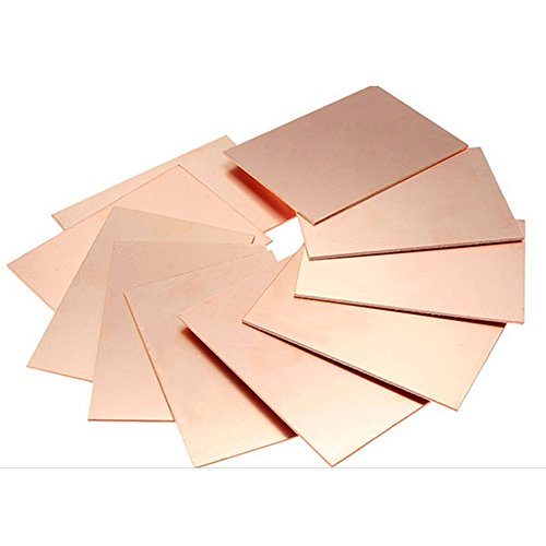 10pcs FR4 PCB Single Side Copper Clad Laminate Circuit DIY PCB Kit - 4