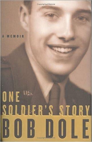One Soldiers Story A Memoir Bob Dole Amazon Books