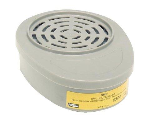 MSA Advantage GMC (OV/CL/HC/SD/CD/HS esc only)#815357 Respirator Cartridge(2/pk)