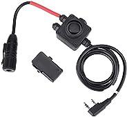 PTT Push-to-Talk Adapter for Z-TAC Series Military Radios Earphone Headphone Z134-MIL Wireless Headphones Over