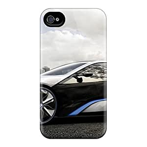 Premium Durable Bmw I8 Fashion Tpu Iphone 4sProtective Case Cover