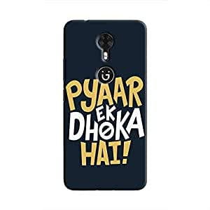 Cover It Up - Love Betrays Gionee A1 Hard Case