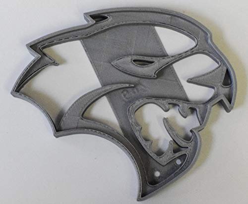 - DODGE CHALLENGER HELLCAT MUSCLE CAR LOGO SPECIAL OCCASION COOKIE CUTTER FONDANT BAKING TOOL 3D PRINTED USA PR769