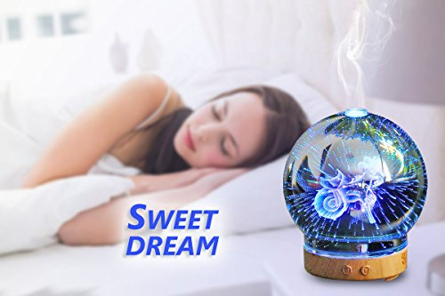 POLENNON Aromatherapy Essential Oil Diffuser Capricorn Humidifier Essential Oil Ultrasonic Cool Mist Humidifier