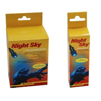 Lucky Reptile NS-1 Night Sky LED Mondlichtset Einzel inklusive Trafo