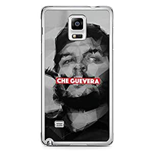 Che Guevera Samsung Note 4 Transparent Edge Case - Heroes Collection