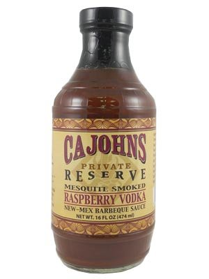 CaJohn's Mesquite Smoked Raspberry Vodka BBQ (Raspberry Vodka)
