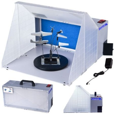 Master Airbrush Brand Portable Hobby Airbrush Spray Booth ...