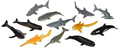 US Toy Assorted Whale And Shark Toy Figure
