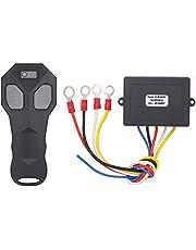 SEDRITENT 12v Wireless Winch Remote Control for Jeep Truck ATV SUV,Waterproof Switch Handle Wireless Control Set