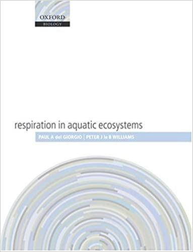 Read online Respiration in Aquatic Ecosystems (Oxford Biology) PDF
