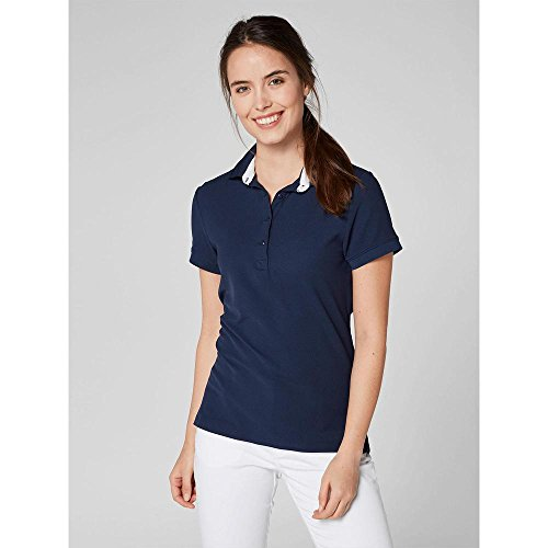 Helly Crewline W Blu Hansen Donna Polo Evening Blue q7OxqHr
