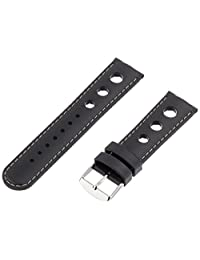 Hadley-Roma Men's MS3455RT 220 22mm Genuine Rubber Diver Sport Watch Strap